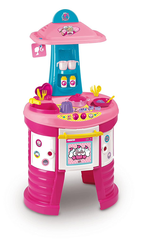 Grandi Giochi GG00513 - Cucina Barbie e mini Barbie con cucina ...