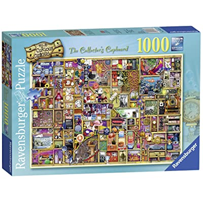 Ravensburger The Collector's Cupboard 19827 1000 Piece Puzzle for Adults, Every Piece is Unique, Softclick Technology Means Pieces Fit Together Perfectly: Toys & Games