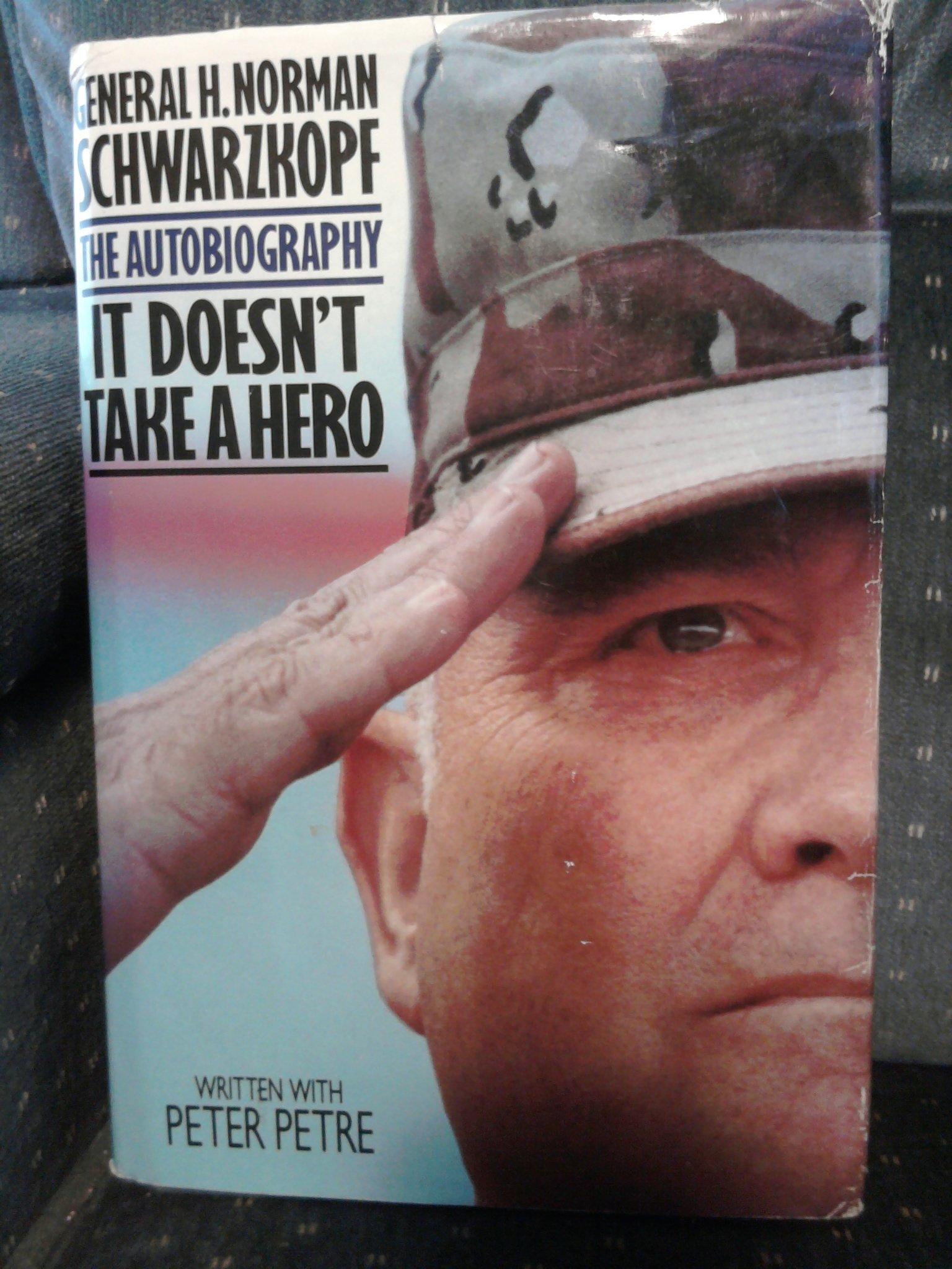 IT DOESN'T TAKE A HERO
