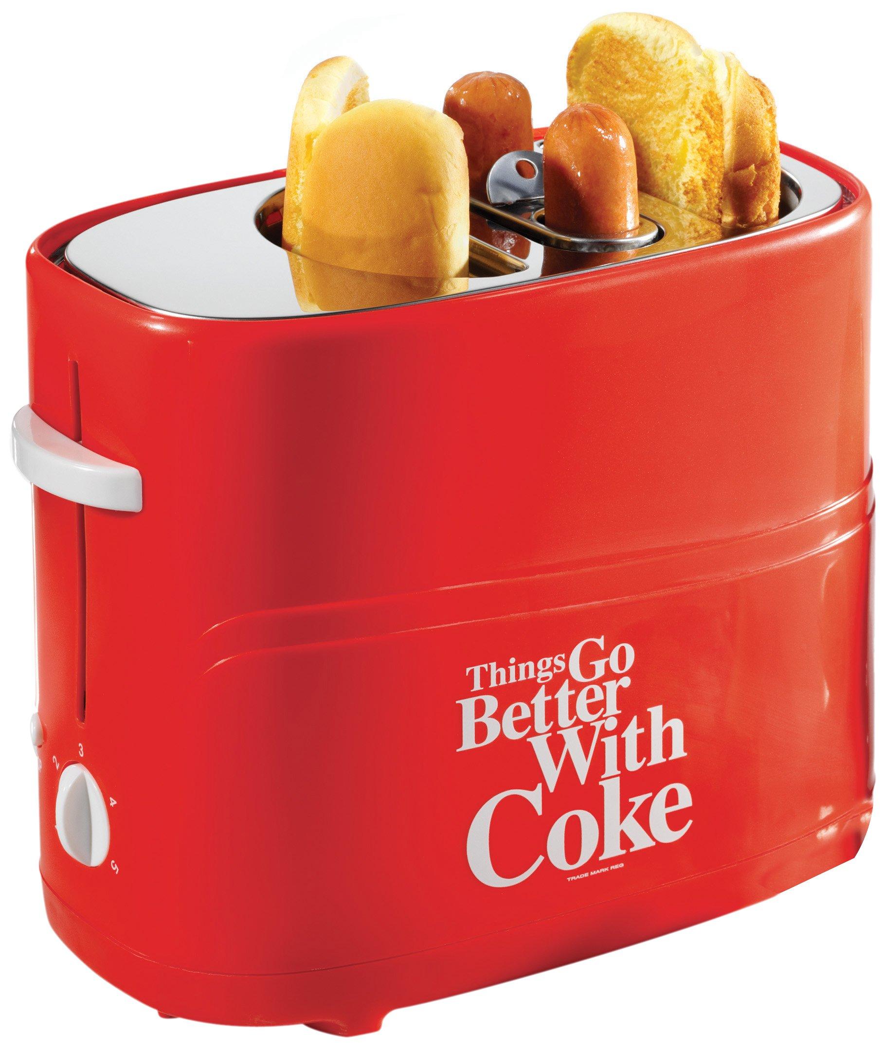Nostalgia Electrics Coca Cola Series Hdt600Coke Pop-Up Hot Dog Toaster 6