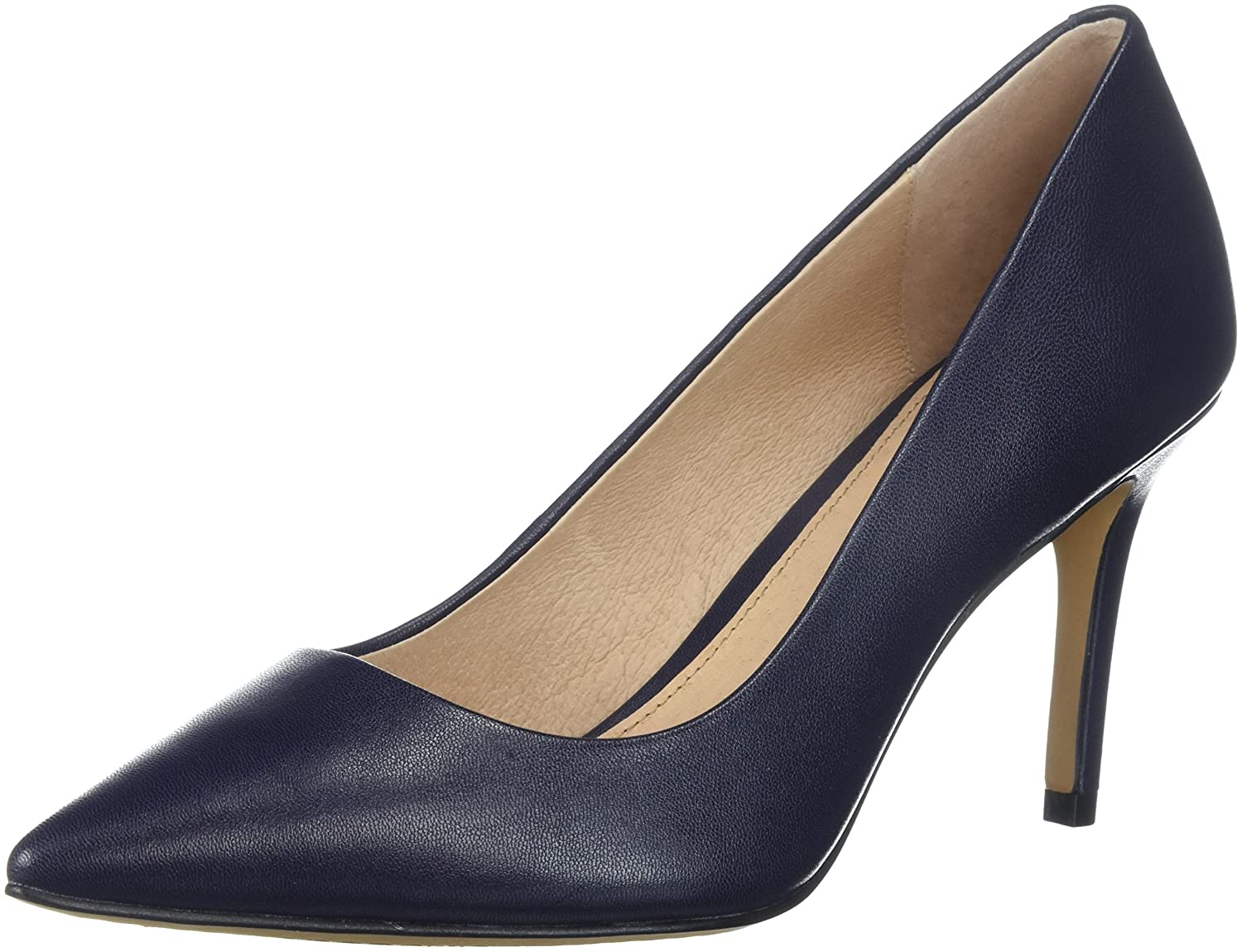 206 Collective Women's Mercer Dress Pump B075TJQX1P 7.5 C/D US|Navy Leather