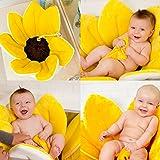 Das Baby Blumenbad - Die Plüschbadematte die Babies und ihre Eltern lieben!