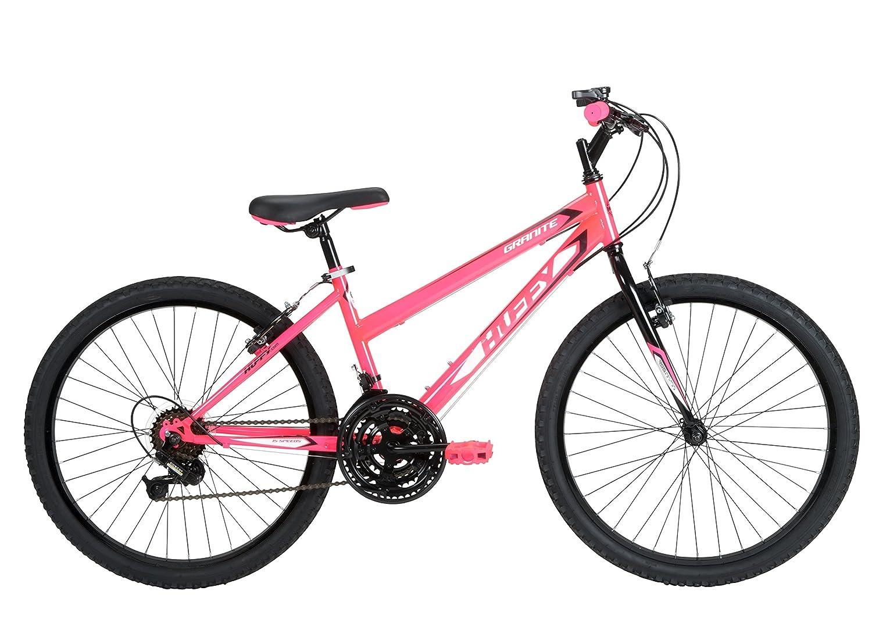 Huffy Bicycle Company Girls Number 24515 Granite Bike, 24-Inch, Neon Pink
