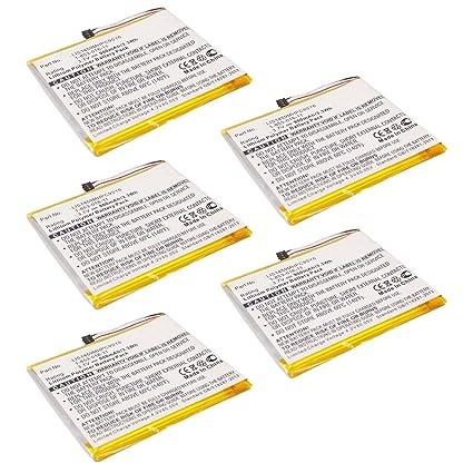 5pcs lector de eBook Li-Po recargable ebbk-prb29 para Sony PRS-350 ...