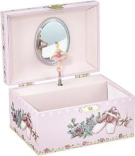 4573ec04fab1 Musicbox Kingdom 28050 - Caja de música con diseño de Zapatos de Bailarina
