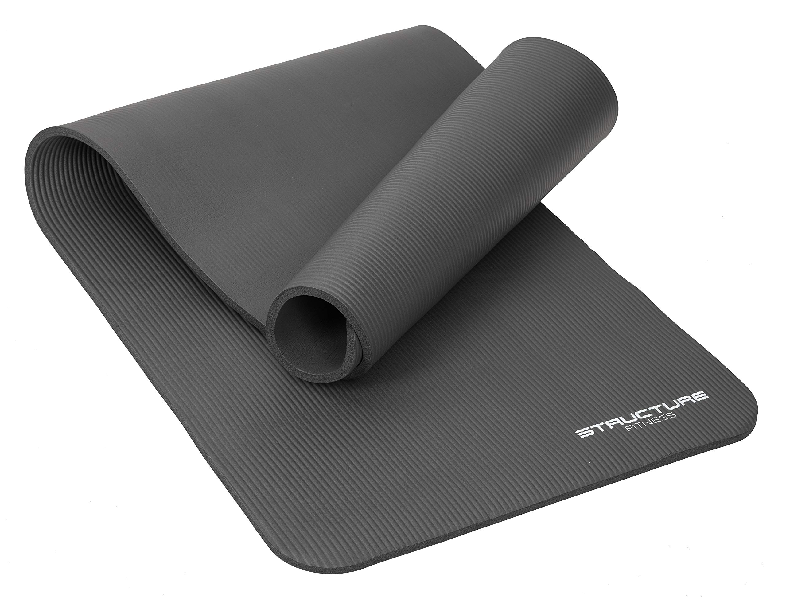 Indoor Outdoor Workout Mat with Free Carry Strap Lions Exercise Yoga Mats 183 x 61 x 0.6cm Non Slip 6mm Extra-Thick Home Gym Pilates