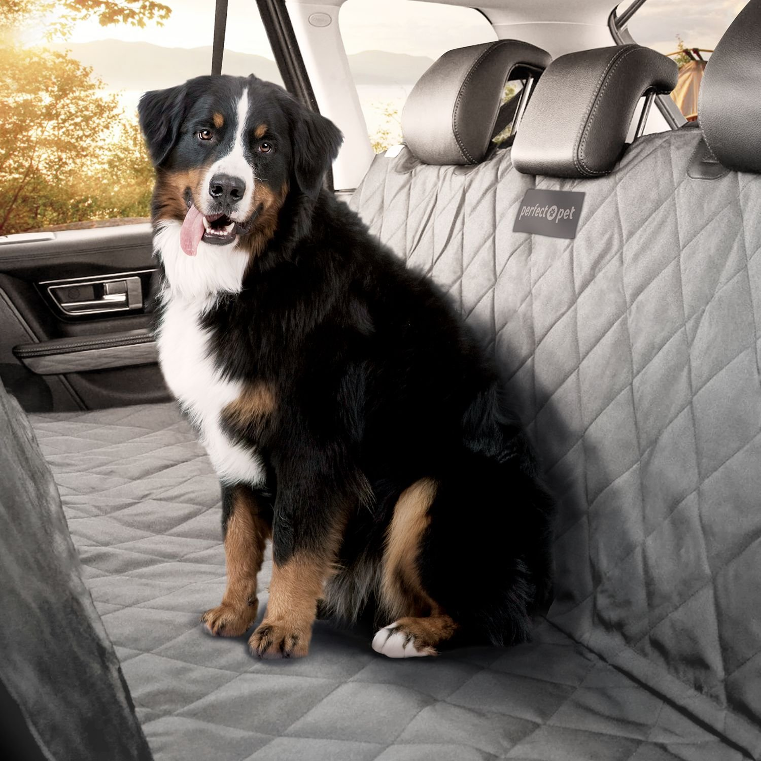 Medium image of amazon     perfect pet seat cover   dog and cat car seat cover hammock   waterproof and machine washable   non slip quilted technology to protect seats in