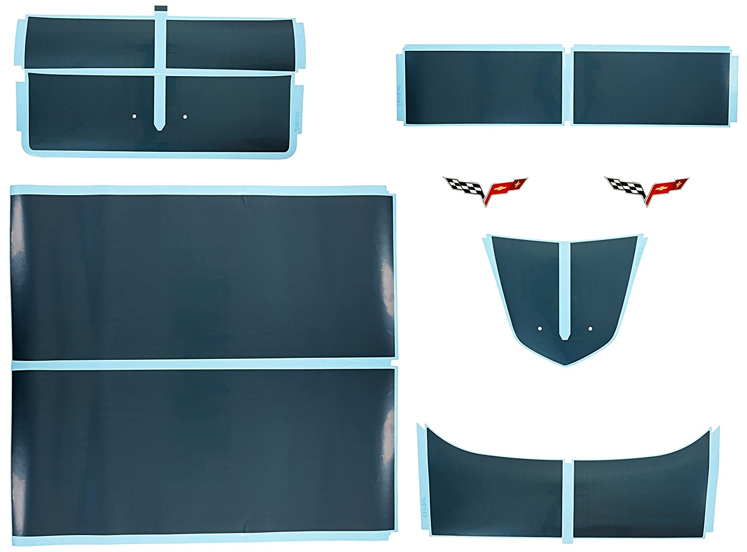 Genuine GM Accessories 22844275 Nose and Spear Stripes Decal