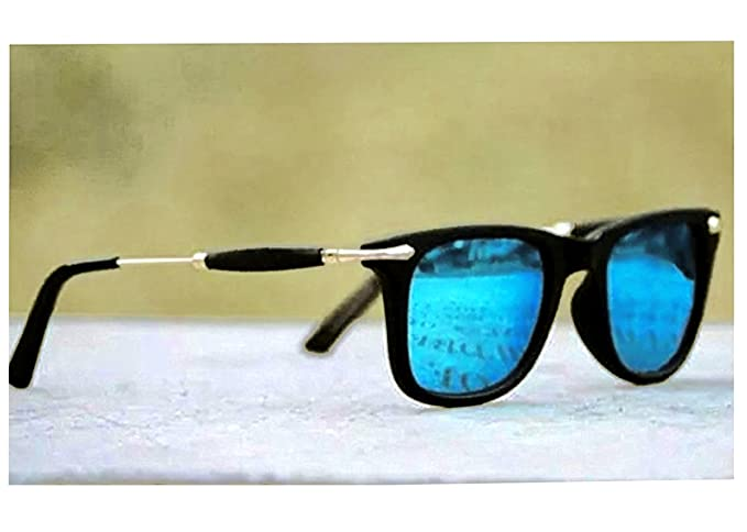 3194d0d97fa Image Unavailable. Image not available for. Colour  Blue Shade Sunglasses