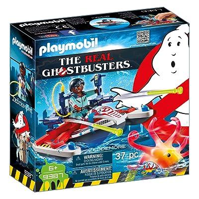 PLAYMOBIL Zeddemore with Aqua Scooter Building Set: Playmobil: Toys & Games