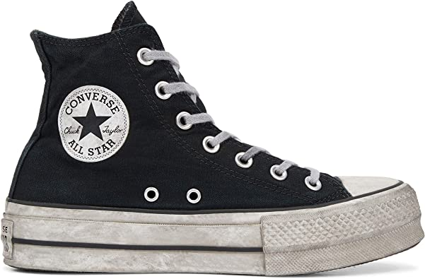 Converse Chaussures Femme Baskets Hautes Chuck Taylor All ...