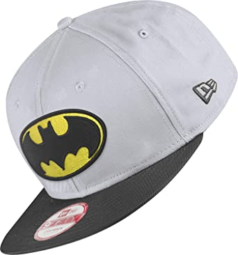 New Era Team Hero Snap Batman Gorra S/M grey/black: Amazon.es ...