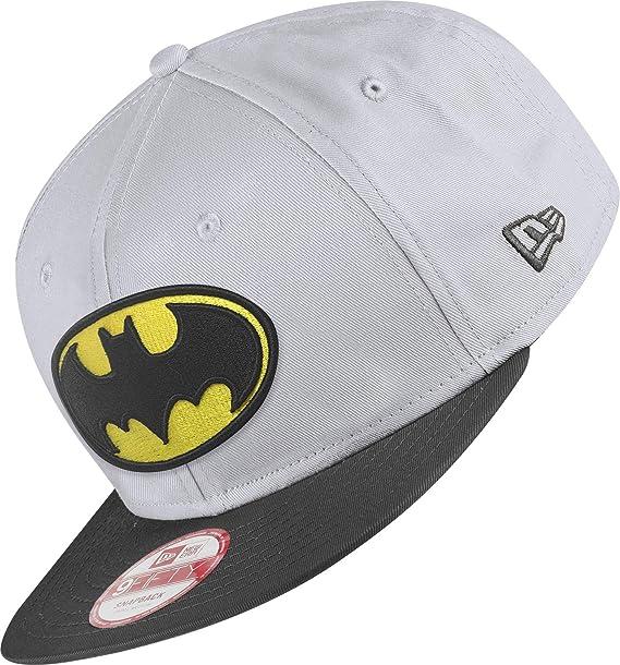 New Era Team Hero Snap Batman Gorra S/M grey/black: Amazon.es ...