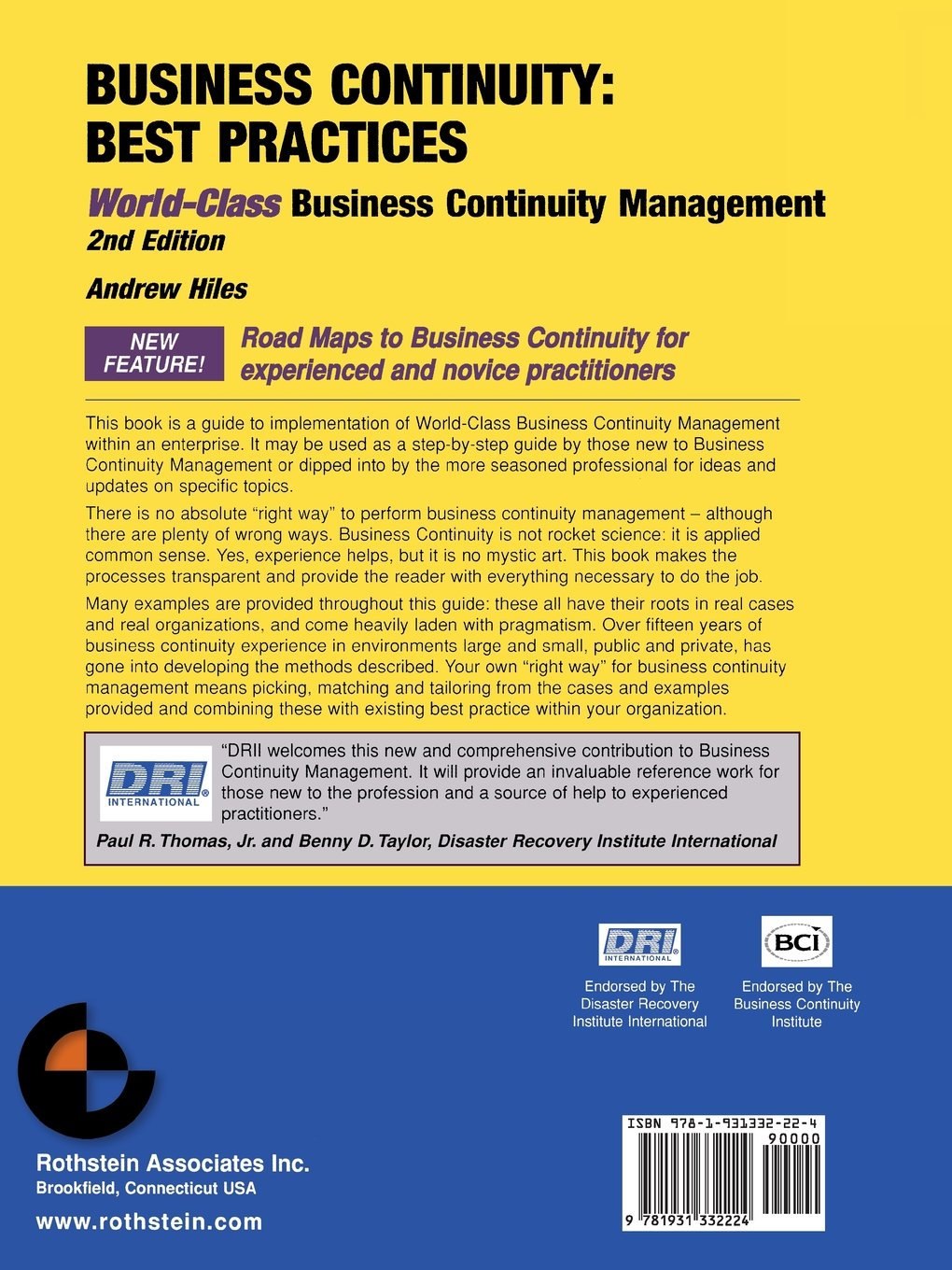 Business Continuity: Best Practices--World-Class Business Continuity Management, Second Edition