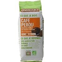 Ethiquable Café Moulu Pérou Bio et Équitable 250 g Producteurs Paysans