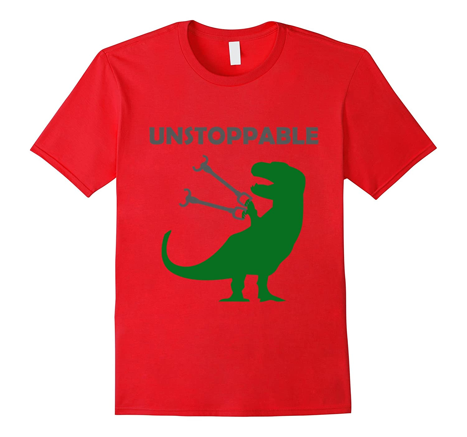 Unstoppable T-Rex T-Shirt - Tyrannosaurs Rex with Long Arms-CL