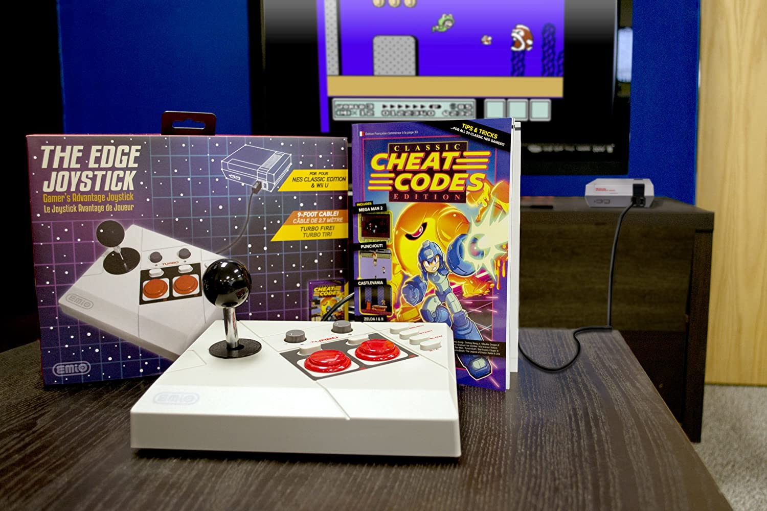 PoweredByEmio.com NES Edge Joystick The Edge: Amazon.es ...