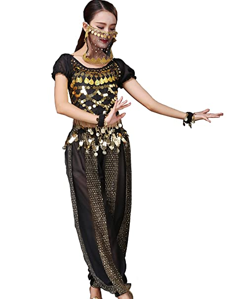 Amazon.com: Astage Disfraz de bailarina de ombligo para ...