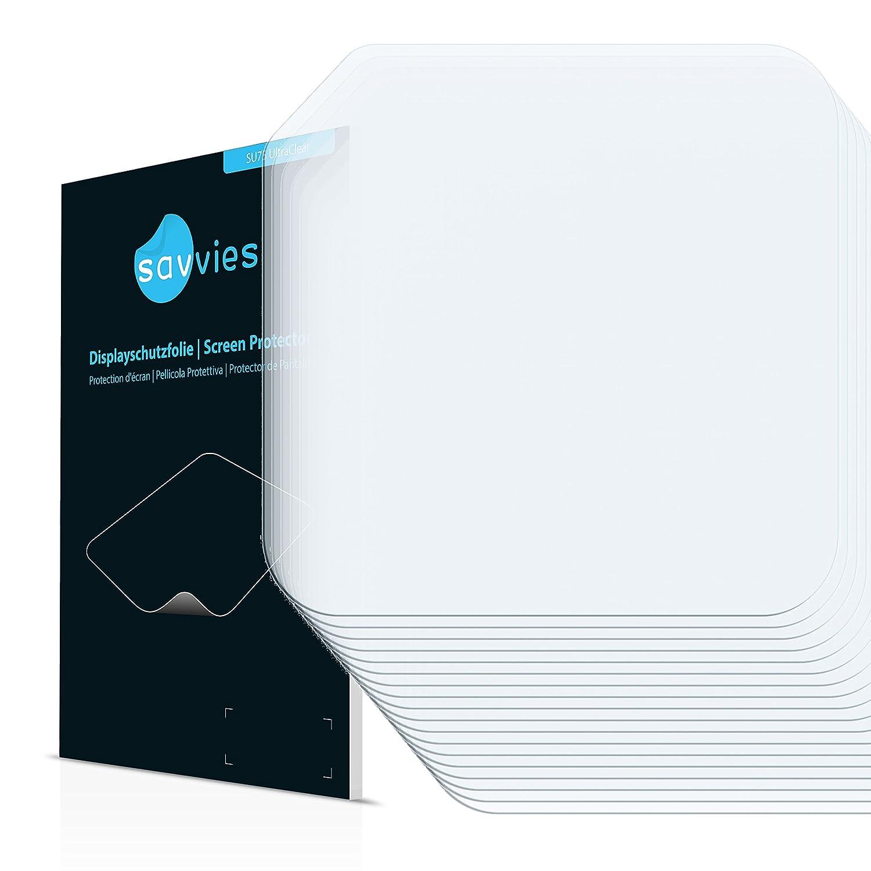 Savvies Protector de Pantalla para GoPro Hero4 Session Lente (Carcasa) Pelí cula Protectora [6 Unidades] - Screen Protector Bedifol