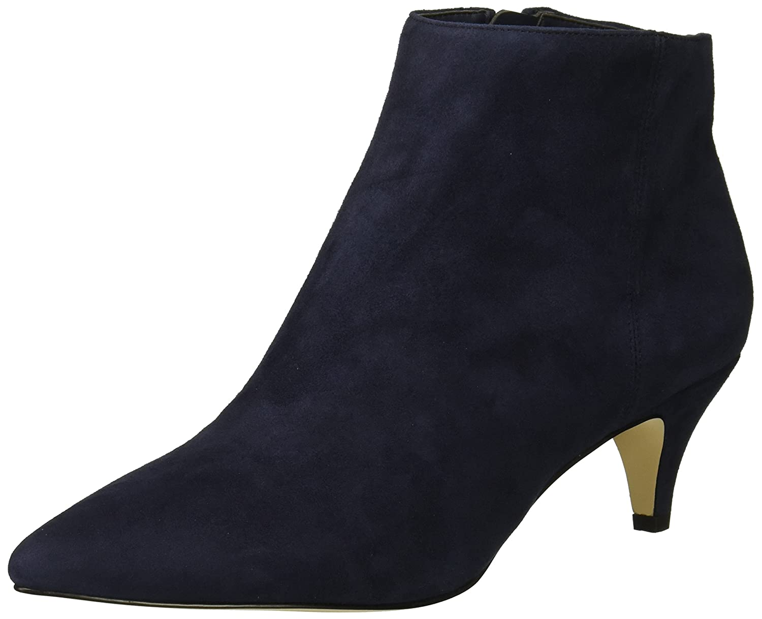 Sam Edelman Women's Kinzey Fashion Boot B07CD2QCKL 6.5 W US|Baltic Navy Suede