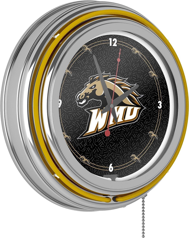 Western Michigan University Neon Clock - 14 inch Diameter 81lnzGmC8pLSL1500_