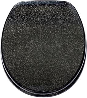 Stupendous Glitter Toilet Seat Black This Item Is New The Glitter Is Pdpeps Interior Chair Design Pdpepsorg