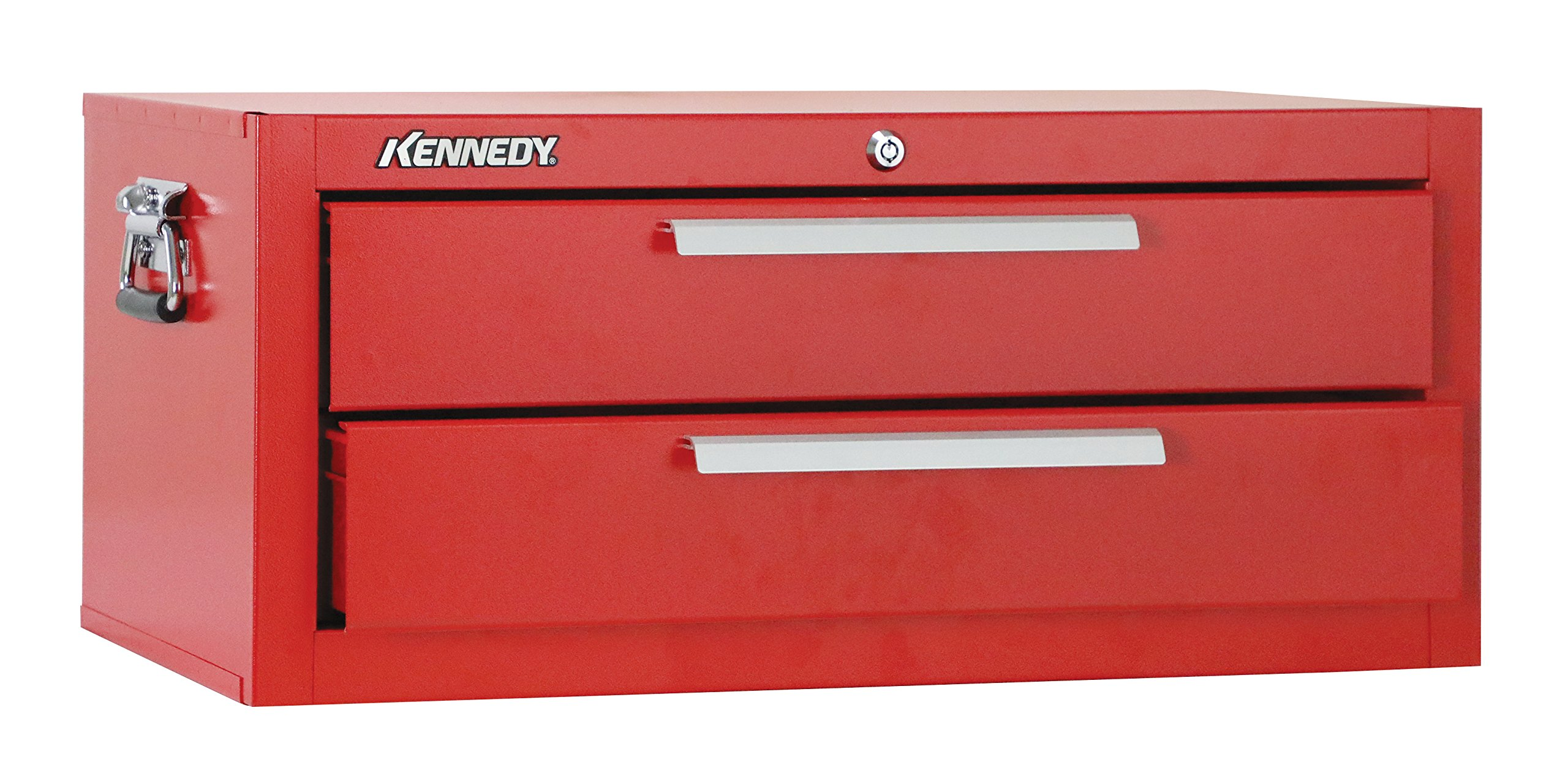 Kennedy Manufacturing 2602R 27'' 2-Drawer Mechanics' Base Cabinet, Industrial Red