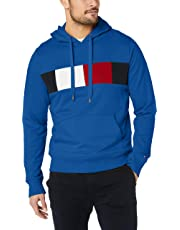 Tommy Hilfiger Men's Colour-Blocked Drawstring Hoody
