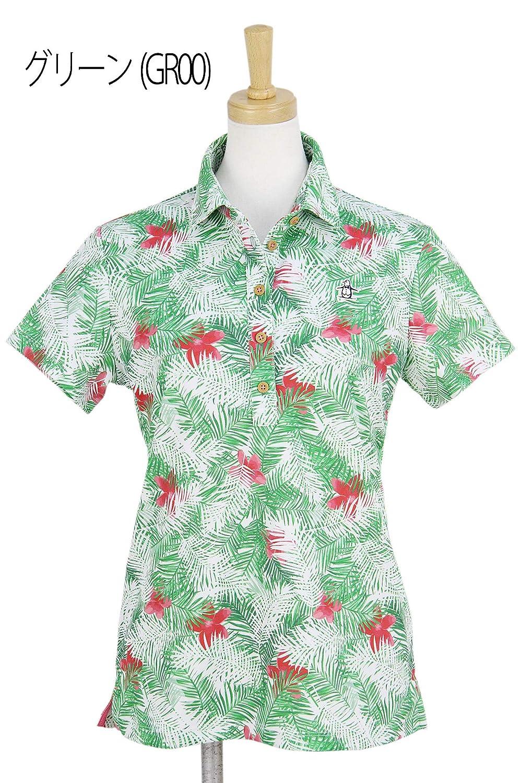 ポロシャツ レディース マンシングウェア Munsingwear 2019 春夏 ゴルフウェア L(L) グリーン(GR00) mgwnja23   B07QJV27Y2