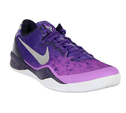 wholesale dealer a53a2 cd0b0 Amazon.com  Nike Men s Kobe 8 System Basketball Shoes 13.5 M US Gradient  Purple Gray  Sports   Outdoors