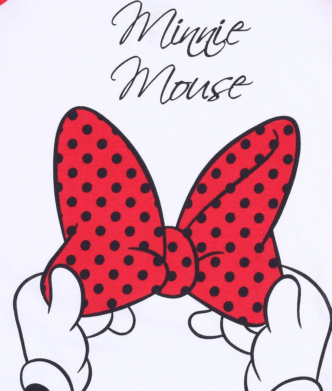T-Shirt Bianco Rossa Mutandine Minnie Disney