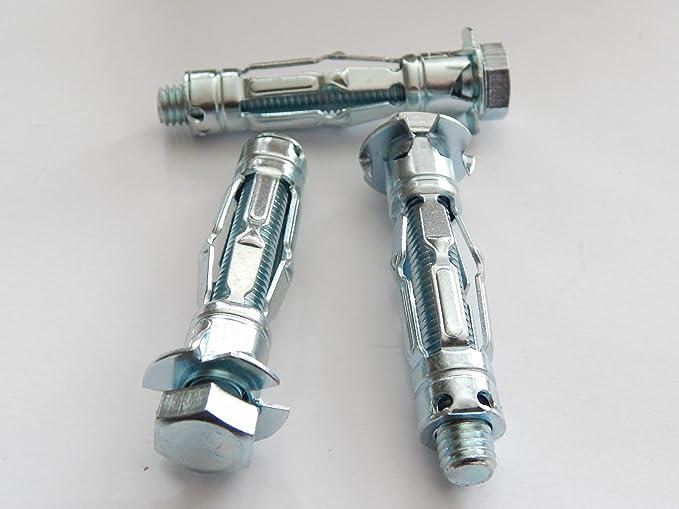 Metall Hohlraumdübel M5x45//37 mm mit Linsenkopfschraube