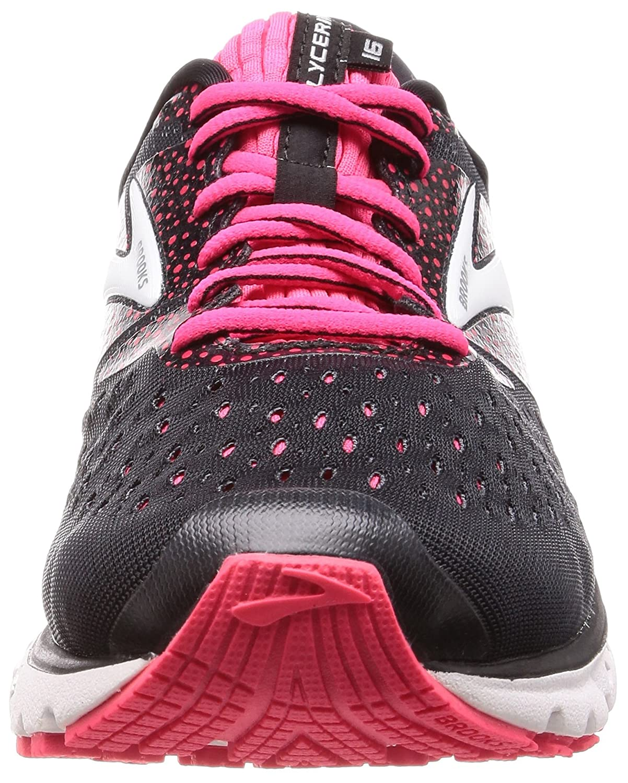 Brooks Womens B(M) Glycerin 16 B077YNCP3Q 9.5 B(M) Womens US|Black/Pink/Grey f203a7