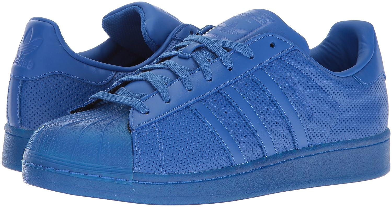 the best attitude 13c7d 1dcbf Adidas Originals Hombres Superstar Adicolor Azul   azul   azul