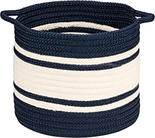 """product image for Colonial Mills Outland Basket, 20""""x20""""x18"""", Navy"""