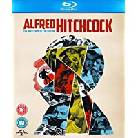 Alfred Hitchcock: The Masterpiece 14 Movies Collection (14-Disc Box Set) (Region Free + Slipcase Includes Digibook Packaging) (Fully Packaged Import)