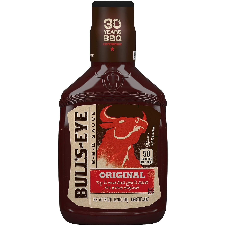 Bull's-Eye Original BBQ Sauce (18 oz Bottles, Pack of 6)