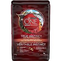 Purina ONE Smartblend True Instinct Natural Dry Dog Food, Beef & Salmon 12.4kg Bag