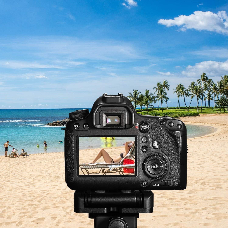 DFFFGGX Aluminum Alloy Folding Z Flex tilt Head Quick Release Plate /& Bubble Level for Canon Nikon Sony Camcorder Tripod Guide Slide