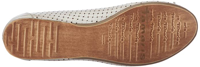 Tamaris Damen Geschlossen, Braun (Muscat 311), 42 EU: Amazon