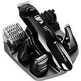 Remington PG6020B (110) F Kit de Rasurado y Corte de Barba y Bigote, color Negro