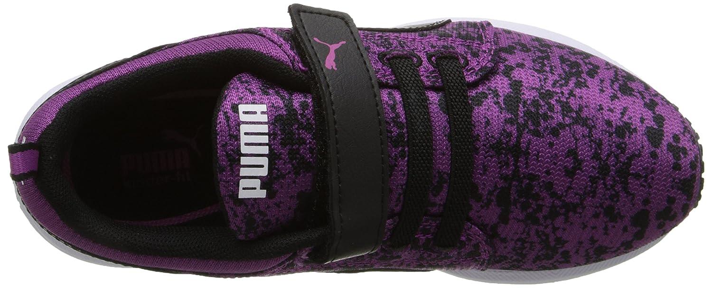 a49fbcf2859e PUMA Carson Runner V Kids Splat Sneaker (Infant Toddler Little Kid Big Kid)