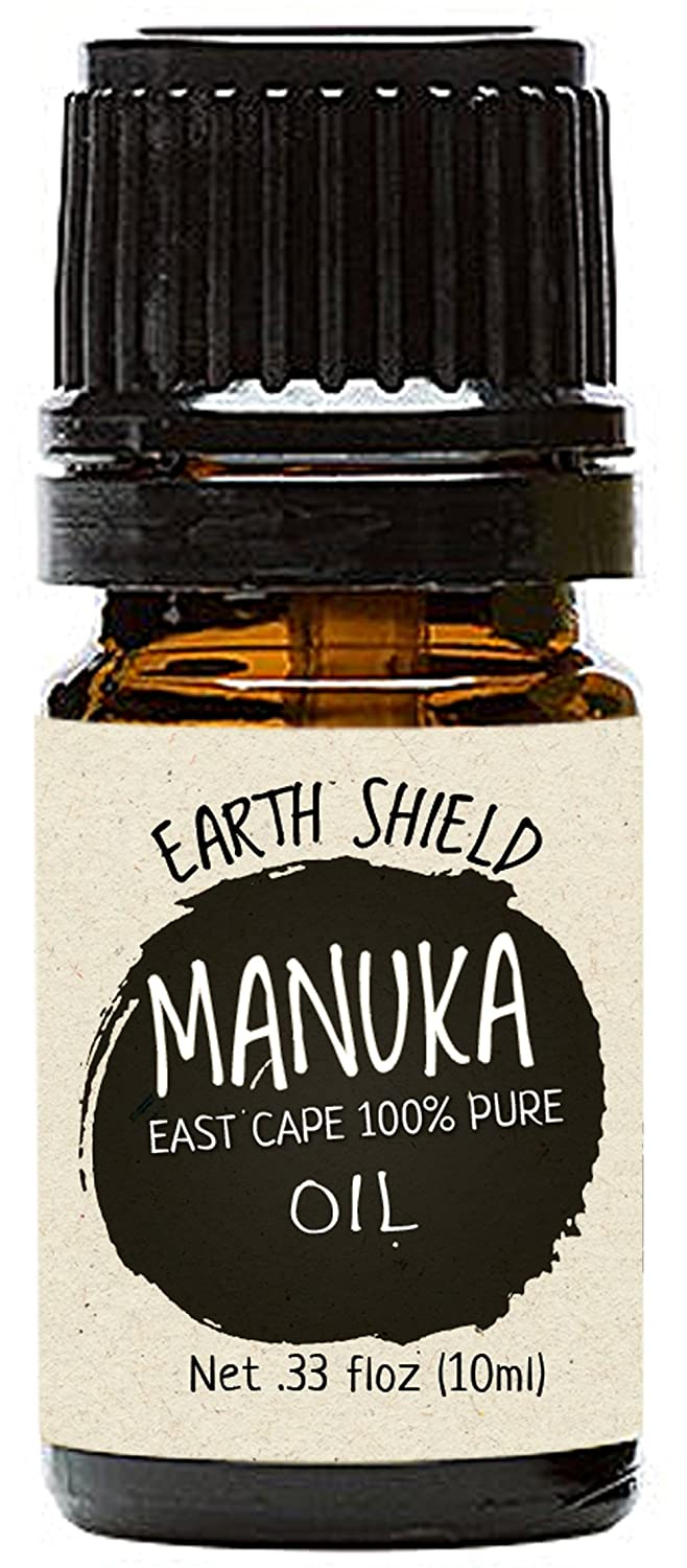 Earth Shield Manuka Oil Parent. 100% pure from New Zealand East Cape. (1/3 Oz)