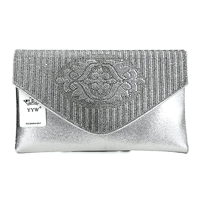 Big Bolsa de compras Fiesta Boda Bolsa Bolso de Mano billetera de mujer Cartera para Fiesta