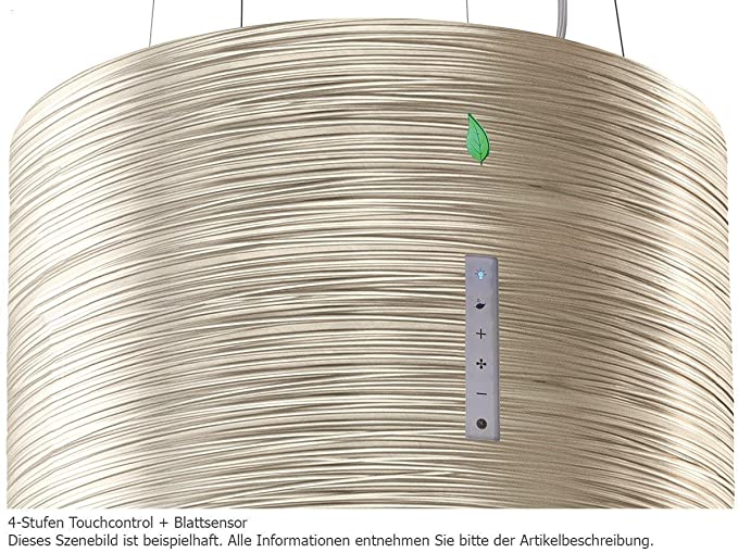 Falmec twister e.ion system titan design dunstabzugshaube inselhaube