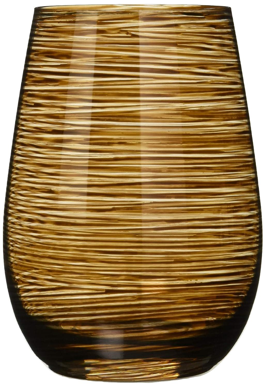 Vasos Twister de Stölzle Lausitz, 465 ml, Marrón, Juego de 6 ...