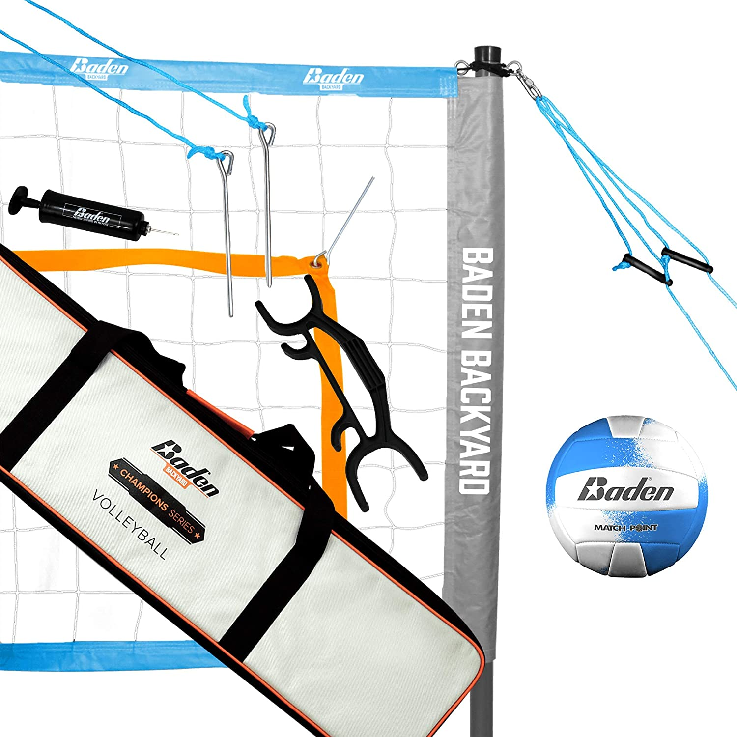 Baden Champions Volleyball Set : Volleyball Net Systems : Sports & Outdoors