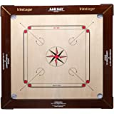KD AAR-KAY Carrom Board Champion 16mm Vintage Plywood Approved by Carrom Federation of India & International Carrom Federation