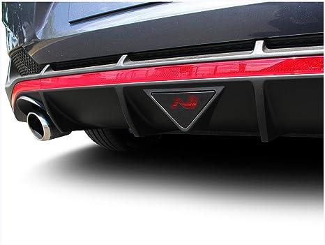 2er Set Folie Zuschnitt Für Nebelschlussleuchte Mit Ausschnitt In Logo Form Emblem Passgenau Selbstklebend Auto Aufkleber Schwarz K081 Fastback Auto