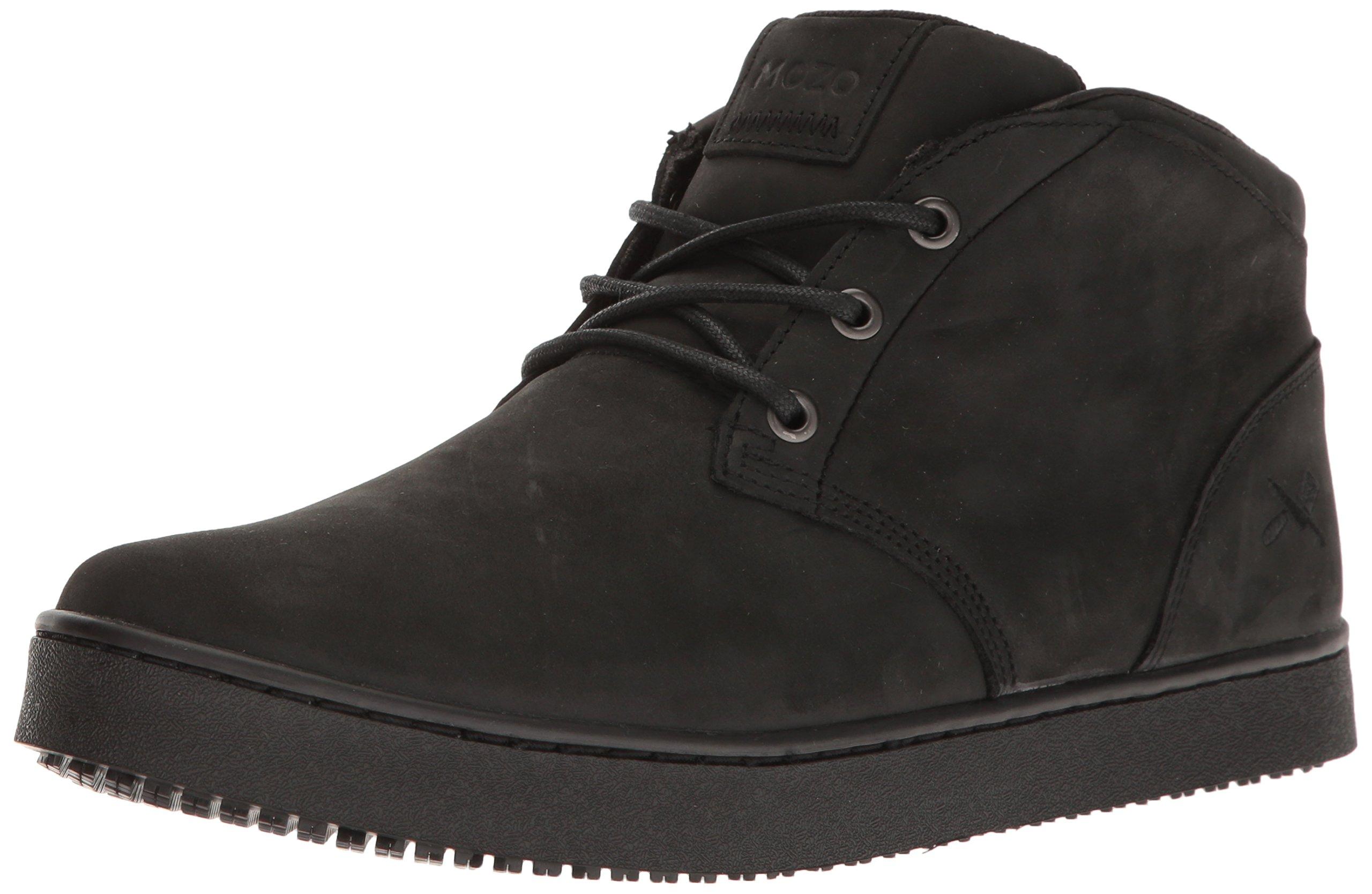 MOZO Men's FINN Chukka Industrial & Construction Shoe, Black, 10.5 D US by MOZO